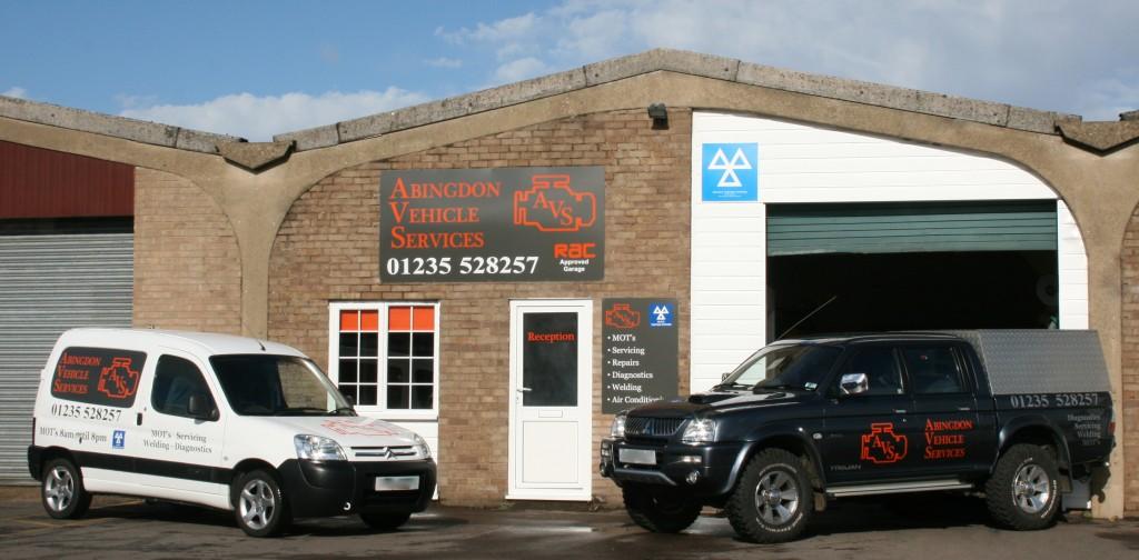 Abingdon Vehicle Services Workshop