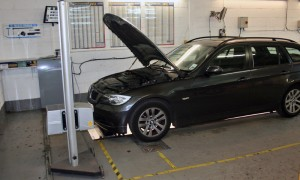 Servicing & MOT Test Bay
